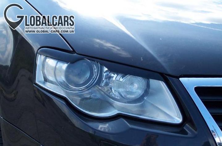 НОВЫЕ РЕСНИЦЫ НАКЛАДКИ НА ФАРЫ VW PASSAT B6 C3 - 1KLR4LMB1, фото 2, цена