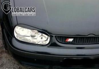 НОВЫЕ РЕСНИЦЫ НАКЛАДКИ НА ФАРЫ VW GOLF IV 4 MK4 - 31935LMB1, фото 2, цена