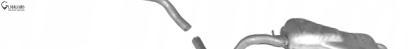 ГЛУШИТЕЛЬ ГЛУШНИКИ VW GOLF IV 1.9 TDI СРЕДНИЙ КОНЕЧНЫЙ - 5018670B1, фото, цена