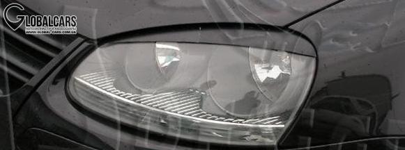 НОВЫЕ РЕСНИЦЫ НАКЛАДКИ НА ФАРЫ VW GOLF V 5 - 5308BLMB1, фото 2, цена