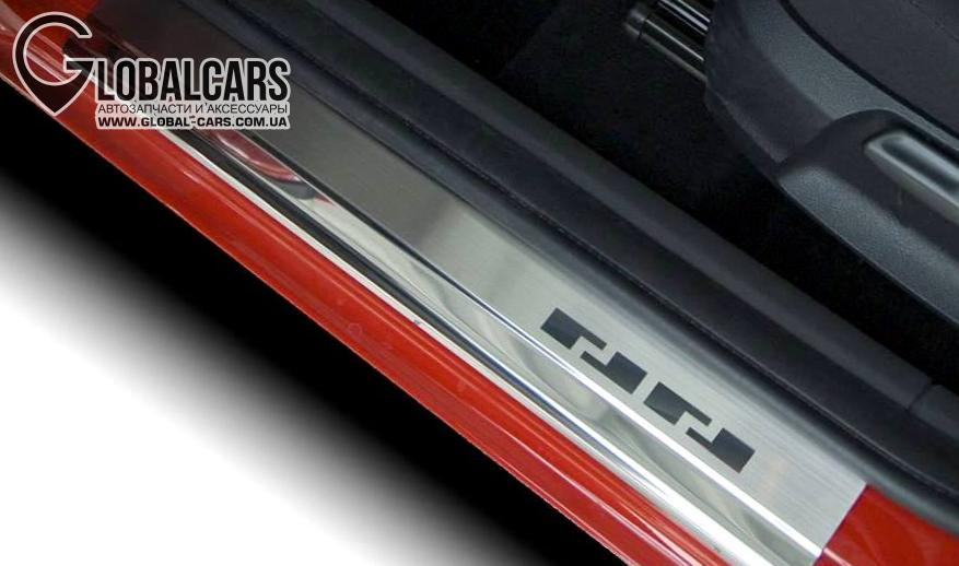 МОЛДИНГИ НА ПОРОГ НАКЛАДКИ VW GOLF II III IV V VI VII - 69K522911, фото 3, цена