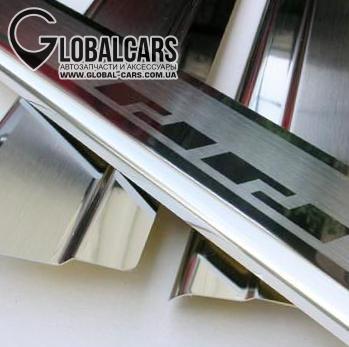 МОЛДИНГИ НА ПОРОГ НАКЛАДКИ VW GOLF II III IV V VI VII - 69K522911, фото 5, цена