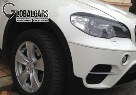 РЕСНИЦЫ НАКЛАДКИ НА ФАРЫ К BMW X5 E70 - 6BLB946B1, фото 2, цена