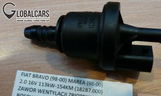 BRAVO MAREA 2.0 20V 154KM КРАНИК БАКА - 8L4862011, фото 2, цена
