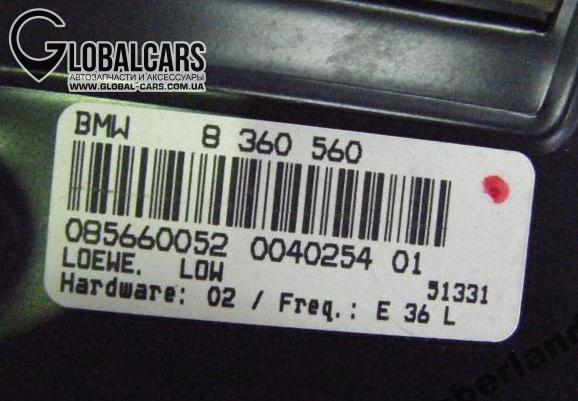 BMW E36 1.6 97 R УСИЛИТЕЛЬ LOEWE - B16LB5TB1, фото 2, цена
