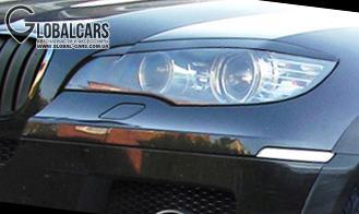 РЕСНИЦЫ НАКЛАДКИ НА ФАРЫ К BMW X6 E71 - B207T46B1, фото 2, цена