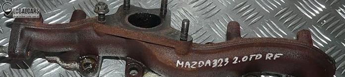 MAZDA 323F 626 2.0 DITD КОЛЛЕКТОР ВЫХЛОПА - KKK15R901, фото, цена