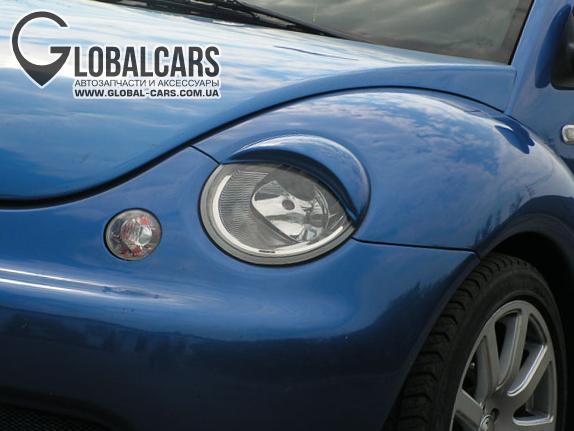 РЕСНИЦЫ НАКЛАДКИ ОЧКИ НА ФАРЫ VW NEW BEETLE - L1M7526B1, фото 2, цена