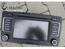 МАГНИТОЛА MP3 SKODA YETI OCTAVIA II BOLERO 1Z0035156N фото, цена