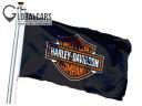 FLAGA HARLEY DAVIDSON МОТОЦИКЛ COMPANY 150X90 CM USA фото, цена