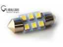 ТРУБКА LED 31MM 6SMD C5W C10W 36,39,41,42 фото, цена