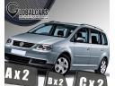 ZASŁONKI (6 ШТ.) К VW TOURAN ОТ 2003 > 2010 фото, цена